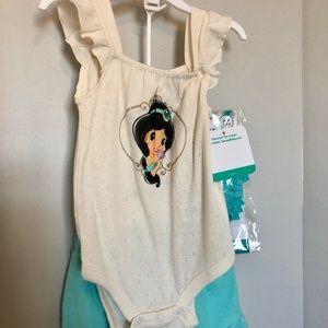 Disney Baby Princess Jasmine outfit 6/9M